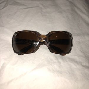 Polarized Tortoise Ray Bans authentic
